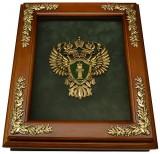 Деревянная ключница - Эмблема Прокуратуры